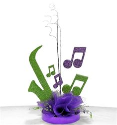 Find the perfect centerpiece kits for your music themed party by shopping all of our music decorations today! Carnival Centerpieces, Music Centerpieces, Banquet Centerpieces, Masquerade Centerpieces, Centrepiece Ideas, Table Decorations, Music Themed Parties, Music Party, Casino Theme Parties