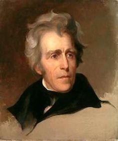 Andrew Jackson (1767–1845), seventh President of the United States from 1829 to 1837, from Waxhaw and practiced law in Salisbury