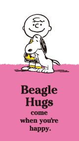 SNOOPY.co.jp : SNOOPY'S BEAGLE HUG