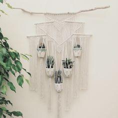 New Macrame Plant Hanger!                                                       …