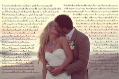 DIY: HOW TO MAKE ARTWORK WITH YOUR WEDDING VOWS « Vicki Anne Melo