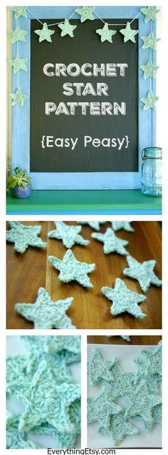 Free Crochet Star Pattern