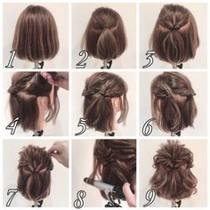 Hair arrangement / girls pic