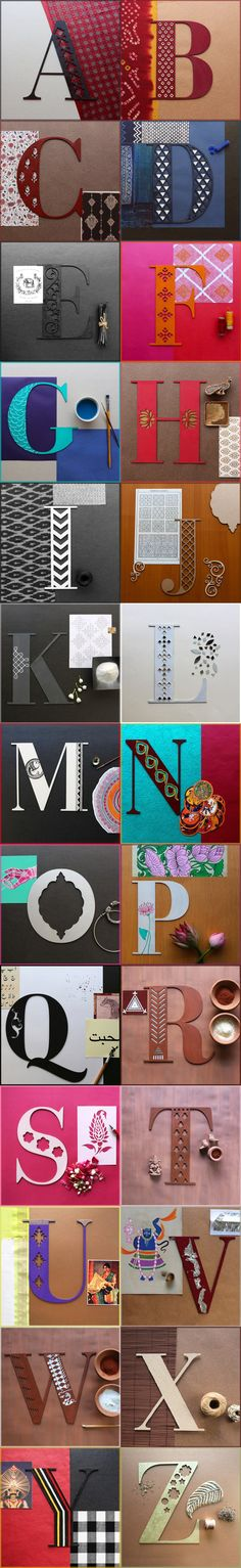 36 Days Of Type & A Beautiful Journey Through Indian Crafts With Hiral Patel