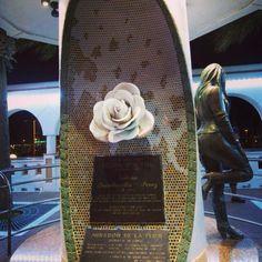 Mirador de la flor in Corpus Christi Texas!! Selena Quintanilla statue!! I loved loved loved going here!! ❤️