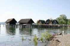 Open-air-museum. Unteruhldingen, Lake Constance, Germany