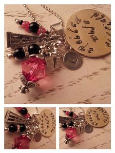 Hand Stamped Spoiled Oilfield Wife Charm by AimsFavoriteThings, $23.00
