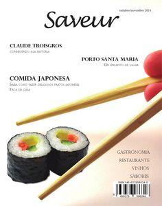 Revista saveur pedro melo  Trabalho acadêmico. Revista sobre culinária