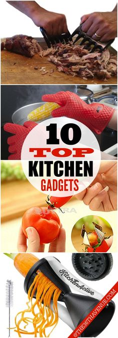 10 Kitchen Gadgets Kitchen Gadgets - 10 CLEVER Gadgets that will make your life easier! See them all at Kitchen Gadgets - 10 CLEVER Gadgets that will make your life easier! Clever Gadgets, Cool Kitchen Gadgets, Home Gadgets, Cooking Gadgets, New Gadgets, Cooking Tools, Kitchen Items, Cool Kitchens, Amazing Gadgets