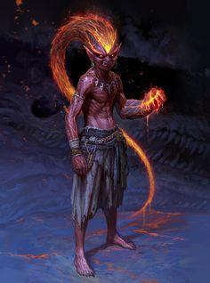 Fantasy Model, Fantasy Races, Dark Fantasy, Creature Concept Art, Creature Design, Fantasy Character Design, Character Art, Dark Artwork, Journey To The West