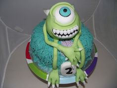 Monsters Inc cake | Monsters Inc cake - Mike & Sulley | Flickr - Photo Sharing!