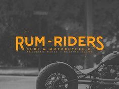 Rum Riders by P. Von Haggen #motorcycle #bike