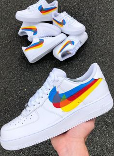 SNEAKERS ♠️♠️♠️♠️♠️♠️♠️ Air Force Sneakers, Nike Air Force, Sneakers Nike, Kicks, Nike Tennis, Nike Basketball Shoes