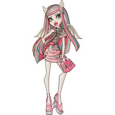 Ghouls Night Out [Rochelle] Monster High Wiki, Arte Monster High, Monster High Characters, Love Monster, Monster High Dolls, Monster Hunter, Rochelle Goyle, Monster High Clothes, Small Canvas Art