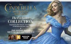 Exclusive Cinderella Collection LIVE on HSN March 10-12 #HSN #CinderellaEvent