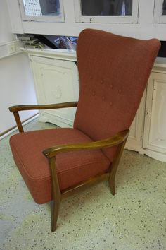 Wingback Chair, Furnitures, Accent Chairs, Vintage, Home Decor, Couches, Upholstered Chairs, Decoration Home, Room Decor