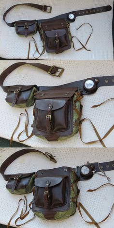 Modular belt pouch side A! by danaan-dewyk on deviantART