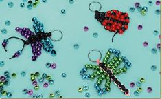Butterfly Bead Pet.  This site also has a lady bug and a dragonfly.