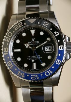 Rolex GMT Master II Day/Night Watch For 2013