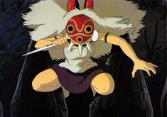 princess mononoke | love the mask design