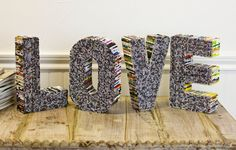 #Recycled Magazine #LOVE letters