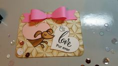 Project life card created using Honey Bee Stamps and My Cute Stamps, We R Memory Keepers embossing folder and distress inks.