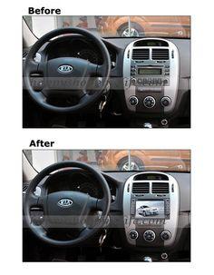 Android DVD GPS Navi with 3G Wifi for Kia Sportage 2004-2009