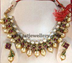 Pata ruby , south sea pearls