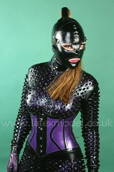 Latex catsuit  hood  Latex Model - https://mobile.twitter.com/LatexModel/media
