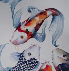 Lake Wylie Koi Tea party, painting by artist Shanti Marie