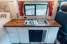 Ideas Van Conversion Ideas , It is possible to set up your van provided that the law allows it. Buying a camper van can be an extremely expensive event. Camper vans and motorhomes. Van Conversion Interior, Camper Van Conversion Diy, Van Conversion Windows, Camper Windows, Diy Van Conversions, Sprinter Van Conversion, Steel Shelving, Camper Storage, Living On The Road