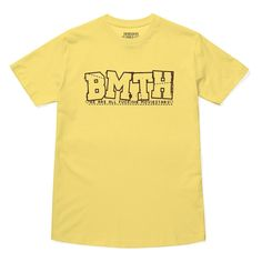 A collection of exclusive Horizon Supply items paying homage to the past artwork and albums of Bring Me The Horizon. Yellow T Shirt, Bmth, Bring Me The Horizon, Mens Tops, Shirts, Play, Collection, Dress Shirts, Shirt