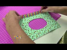 Ateliê na TV - Kit higiene para bebês com Márcia Silva - 18/10/2017 - YouTube Best Diaper Bag, Baby Couture, Baby Sewing, Projects To Try, Make It Yourself, Pattern, Gaia, Baby Changer, Cloth Diapers
