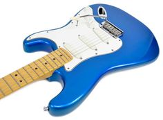 Fender Strat Plus '87, (1st year), Rare Color - Electric Blue  This guitar is for sale, visit: http://www.dannyd.com/fender-strat-plus-87-1st-year-rare-color-electric-blue-used/