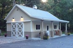 Pole Barn Shed - CLICK PIC for Many Pole Barn House Ideas. 65428234 #building #polebarnshop #Freeplansforyourownshed