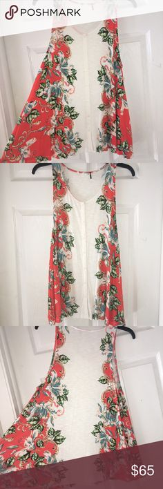 Akemi + Kin floral tunic size small Anthropologie Floral tunic great for spring.  Size small. No holes, stains or major signs of wear!  From Anthropologie. Anthropologie Tops