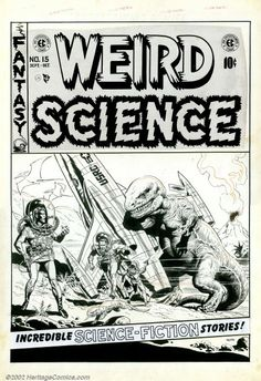 Original Comic Art:Covers, Wally Wood - Original Cover Art to Weird Science #15 (EC, 1952). Asif there were any doubt, this classic and spectacular co... Image #1sold for 36,800 on 10.12.02