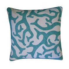 Jiti Reef Cotton Throw Pillow & Reviews | Wayfair