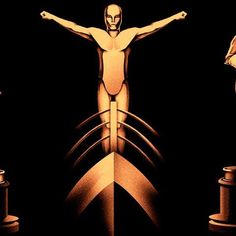"""In honor of the upcoming Academy Awards, this special edition poster features 85 Oscar statuettes, each inspired by the """"Best Picture"""" winners from 1927 to 2012."""