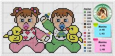 Babies pattern by Carina Cassol