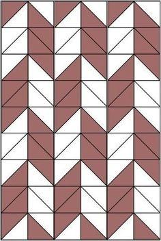 Patchwork Quilt Patterns, Scrappy Quilts, Quilt Patterns Free, Chevron Quilt Pattern, Shape Patterns, Quilting Tutorials, Quilting Projects, Quilting Designs, Triangle Quilt Tutorials