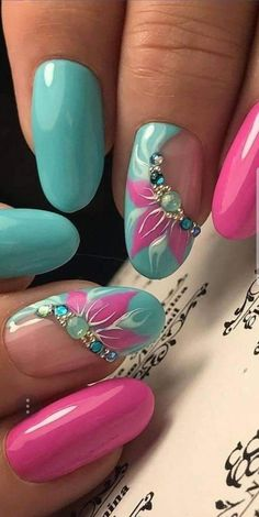 Joli couleur de vernis à ongles tendance 2018 Best Picture For spring nails square For Your Taste You are looking for something, and it is going to tell you exactly what you are looking for, and you d Fancy Nails, Trendy Nails, Cute Nails, Nail Art Diy, Diy Nails, Nail Designs Spring, Nail Art Designs, Nails Design, Nagellack Trends