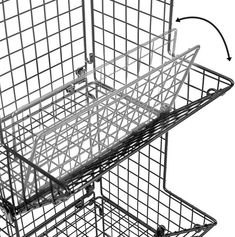 3-Tier Fruit Basket Stand – Sorbus Home Plastic Baskets, Wire Baskets, Storage Baskets, 3 Tier Basket Stand, Wall Mounted Kitchen Storage, Stackable Wine Racks, Tiered Fruit Basket, Fruit Stands, Household Items