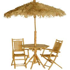 Bamboo54 4 Piece Bistro Set