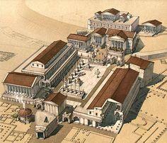 Sito dedicato alla vita, ai fasti, alle vittorie e sconfitte dell'Impero Romano. (Comment by original pinner.)