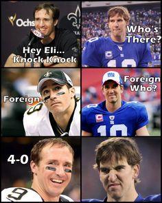 Hahaha!!! #neworleans #saints #whodat #NOLA #NFL