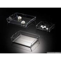 Courtesy tray and tray for carrying sugar sachets, sweets, chocolates and comfits