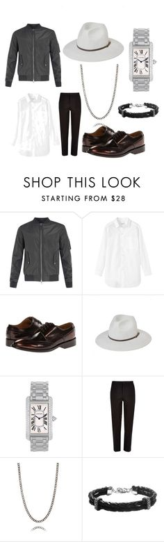 """""""Men's Chic"""" by demijay on Polyvore featuring Toast, Paul Smith, Cartier, River Island, Bernard James, women's clothing, women, female, woman and misses"""