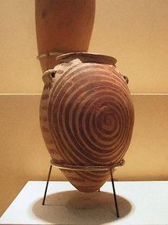 Egyptian pottery.  National Museum of Natural History.  Washington DC
