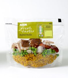 Familiar packaging concepts can be applied to new categories, such as Asda's Fresh Tastes ready meals packaged in stand-up pouches developed by Your Packaging Partner. - Image - Food Processing Technology